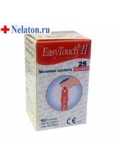 Тест-полоски ИзиТач (EasyTouch) на мочевую кислоту №25