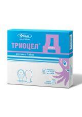 Калоприемник детский Триоцел-Д, 7-50 мм, однокомпонентный опорожняемый (5 шт.)