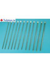 Бужи уретральные металлические прямые (комплект)