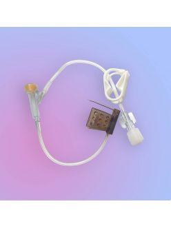 Игла Губера изогнутая с удлинителем с Y-коннектором 20G*20 мм, LR2020Y, FB Medical