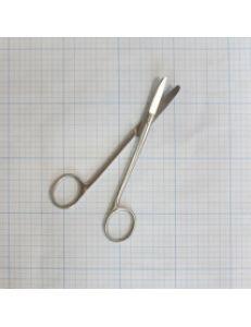 Ножницы изогнутые хирургические с закругленными концами, 150 мм, арт.13-210