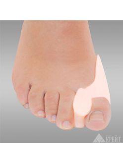Защитная накладка силиконовая на большой палец стопы, Крейт