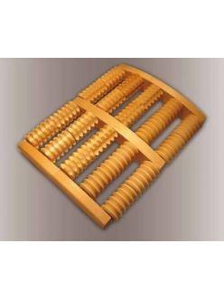 Массажер медицинский деревянный для стоп, МА 4216