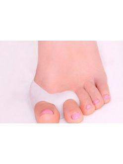 Защитная накладка силиконовая на два пальца стопы (пара)