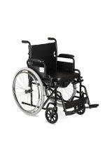 Кресло коляска с санитарным оснащением (туалет), H 011А, Armed