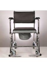 Кресло коляска с санитарным оснащением (туалет), E 0807, Ergoforce