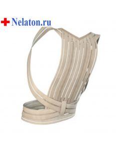 Корректор осанки (реклинатор) для взрослых со спиральными ребрами жесткости W-131, B.Well