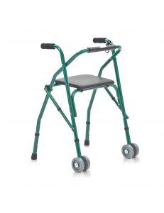 Опоры ходунки-роллаторы (на колесах) с сиденьем, без корзины, FS918L, Armed