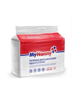 Пеленка 60*90 см My Nanny, Medmil, 1 шт