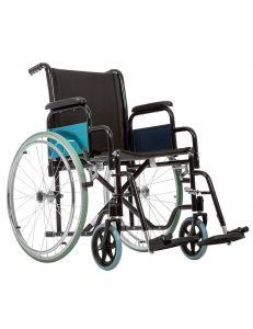Кресло коляска для инвалидов BASE 130 Эконом, колеса литые, Ortonica
