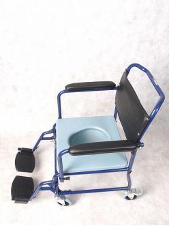 Кресло-коляска с санитарным оснащением E 0811С, Ergoforce