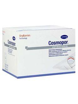 Повязка COSMOPOR Antibacterial- послеоперационная с серебром, 10*8 см, арт.901003, Hartmann