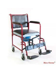 Кресло коляска с санитарным оснащением FS-692-45, Мега-Оптим