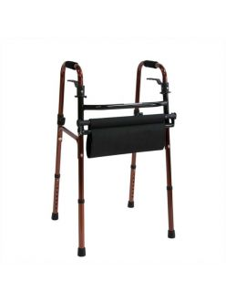 Опоры-ходунки без колес, с сиденьем, FS961L, Мега-Оптим
