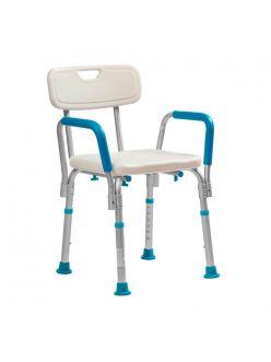 Стул для ванной комнаты с поручнями, LUX 620, Ortonica