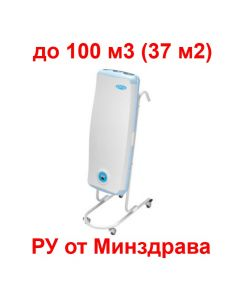 Облучатель рециркулятор ДЕЗАР-4 (ОРУБн-3-3-КРОНТ) передвижной- 45 Вт