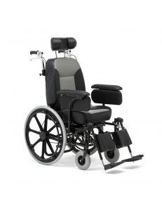Кресло коляска для инвалидов комфортабельное, FS204BJQ, Armed