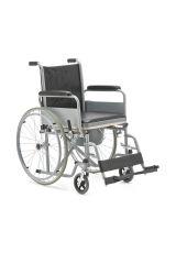 Кресло коляска с санитарным оснащением (туалет), FS682, Armed