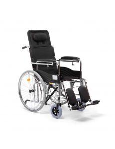 Кресло коляска для инвалидов с высокой спинкой Н 009, Armed