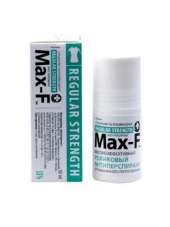 Антиперспирант Max-F 15%, Regular strength, 50 мл