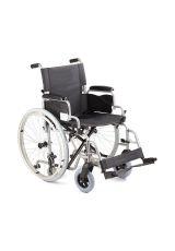 Кресло коляска для инвалидов Н 001 с доп колесами, Armed