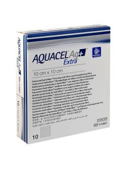 Повязка AQUACEL EXTRA AG+, 5*5 см, арт.413566, ConvaTec