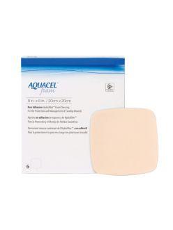 Повязка AQUACEL FOAM AG, неадгезивная, 10*10 см, арт.420642, ConvaTec
